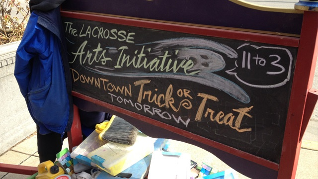 Businesses prepare for Trick-or-Treating in downtown La Crosse