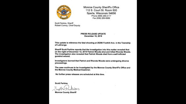 Sheriff's records show Monroe County couple had disputes leading up to murder-suicide