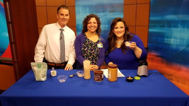 Cooking with N8TM: Chocolate Peanut Butter Banana Protein Shake