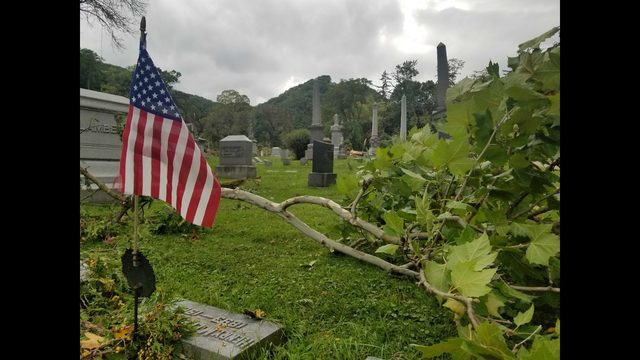 EF1 tornado touched down in Winona cemetery