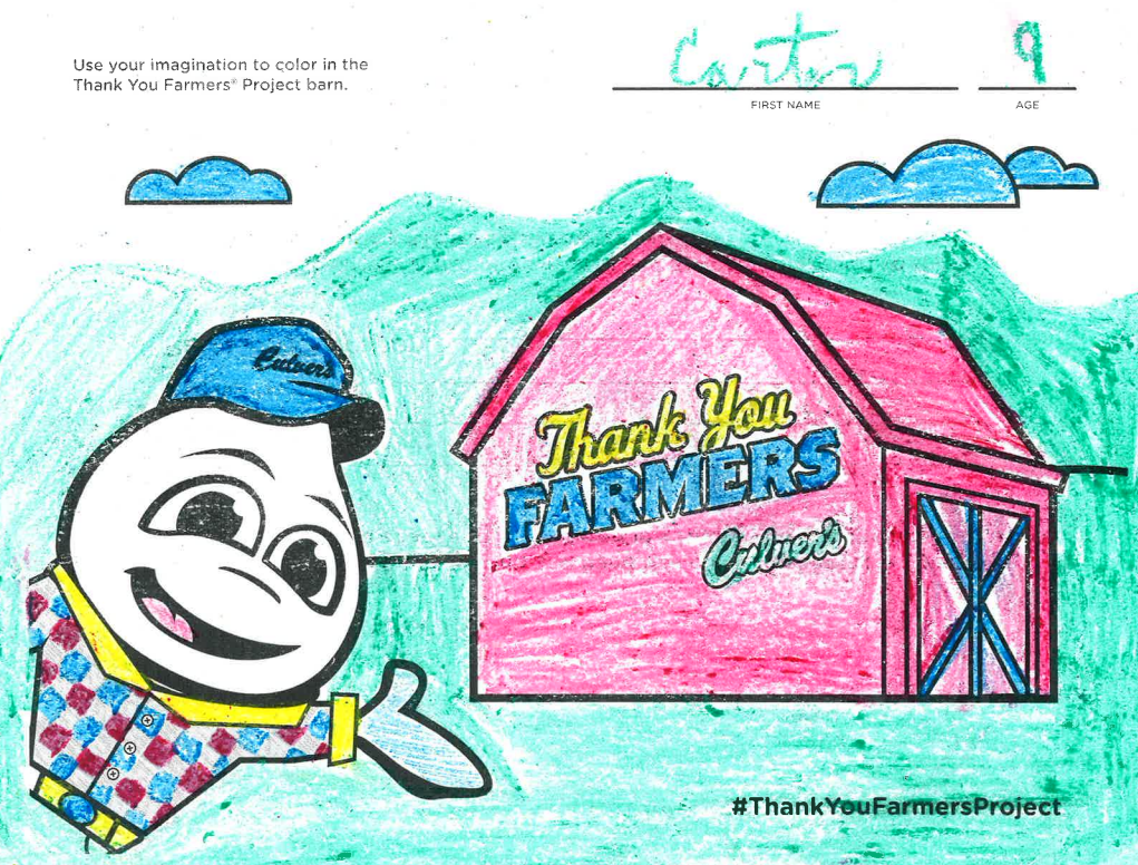 Two Onalaska children's artwork to be featured in 2020 Culver's Calendar