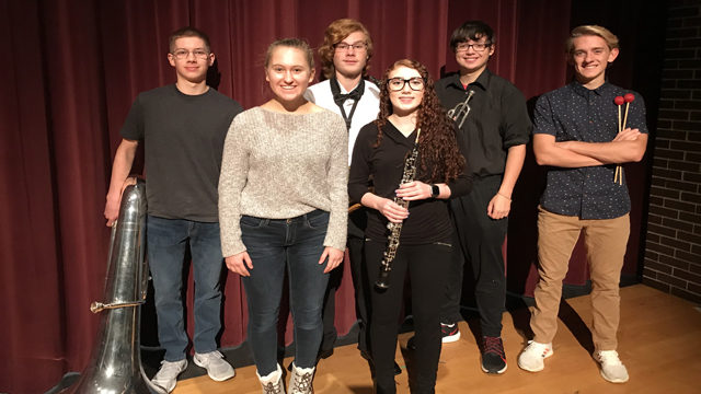 6 Holmen students selected for Wisconsin Honors ensembles