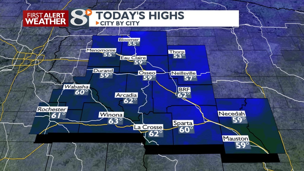 Today's Highs North