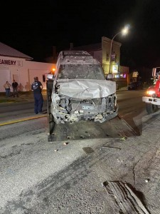 Coon Valley SUV vs home